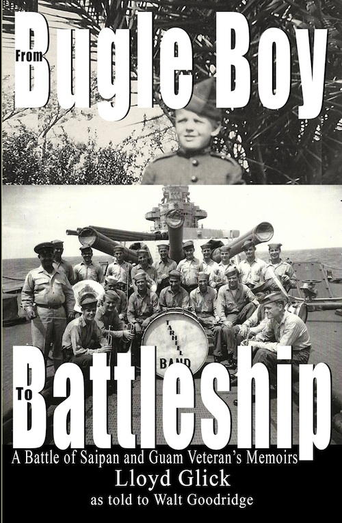 cover image for Bugle Boy to Battleship by Lloyd Glick