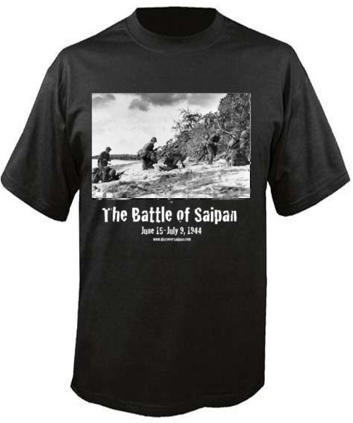 Battle of Saipan t-shirt