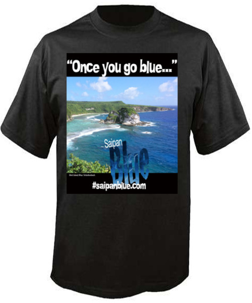Saipan Blue t-shirt