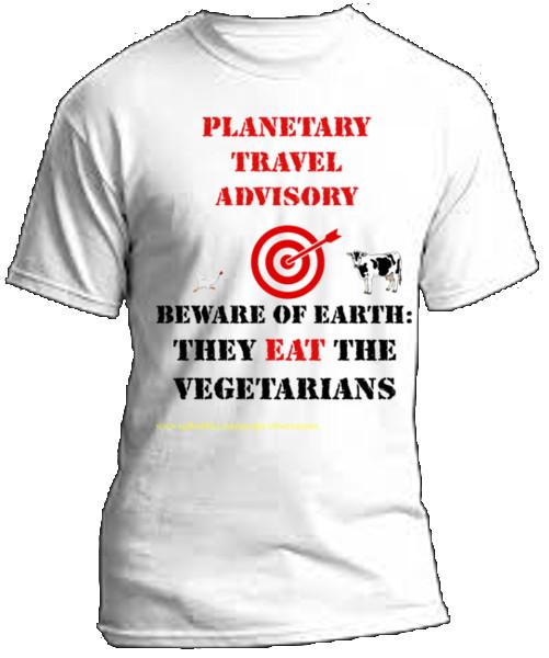 tshirt image for They Eat the Vegetarians tshirt